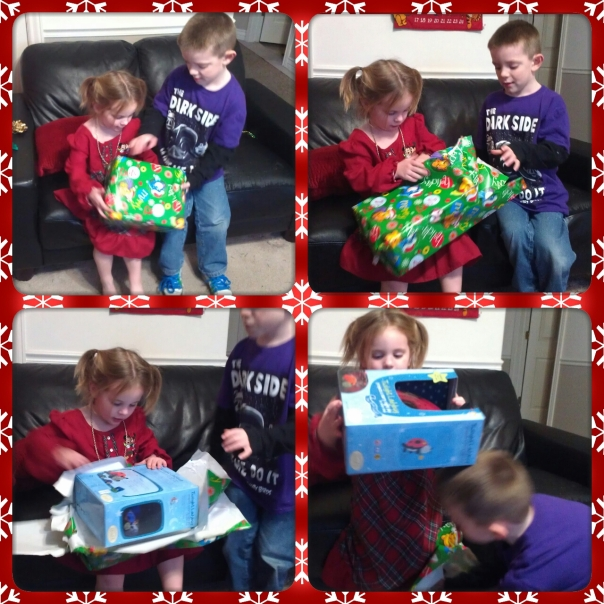 First present Christmas 2012
