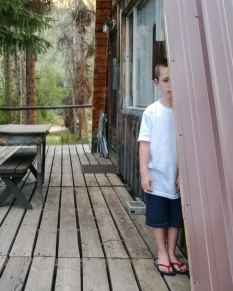 Deeds kept hiding at every cabin he would come to while walking and then demand his picture to be taken.